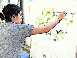 narnie painting by fieryfae