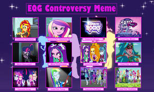Equestria Girls Controversy Meme by fluteplayer2