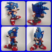 Sonic The Hedgehog by eightbitbert