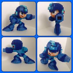 Mega Man by eightbitbert