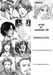 Personajes de After by YukiBaker