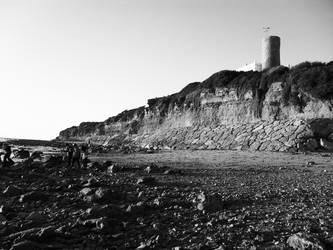La Barrosa Beach Torre Bermeja by YukiBaker