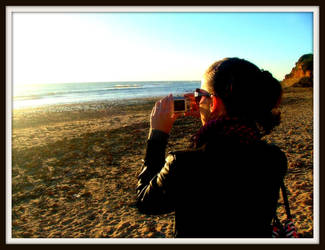 Me in the Beach by YukiBaker