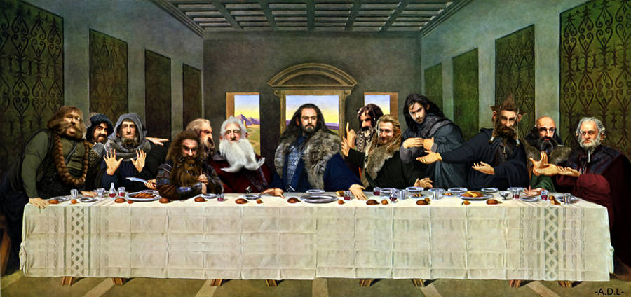 last Thorin's dinner by adlpictures