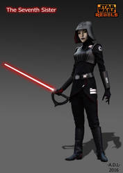 The Seventh Sister by adlpictures