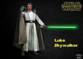 Luke Skywalker by adlpictures
