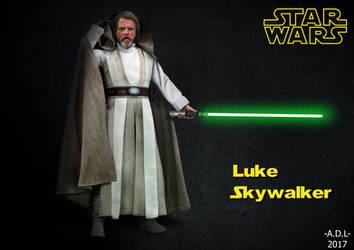 Luke Skywalker by adlpictures