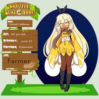 Harvest Lunatone App Sheet Velvet Leblanc by Lunarmorte