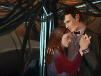 The Doctor and the Girl who Waited by Anylon