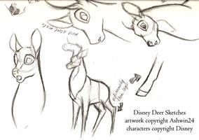 Sketchbook-Disney Deer v2 by Ashwin24