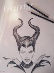 Maleficent by sparkleLI