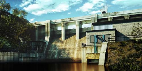 Brno dam by GTaurus