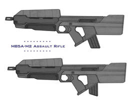 Halo Assault Rifle Revamped by OutFoxedTW
