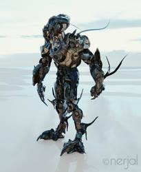 Scarabaeus Alien Suit  - Standing by nerjal