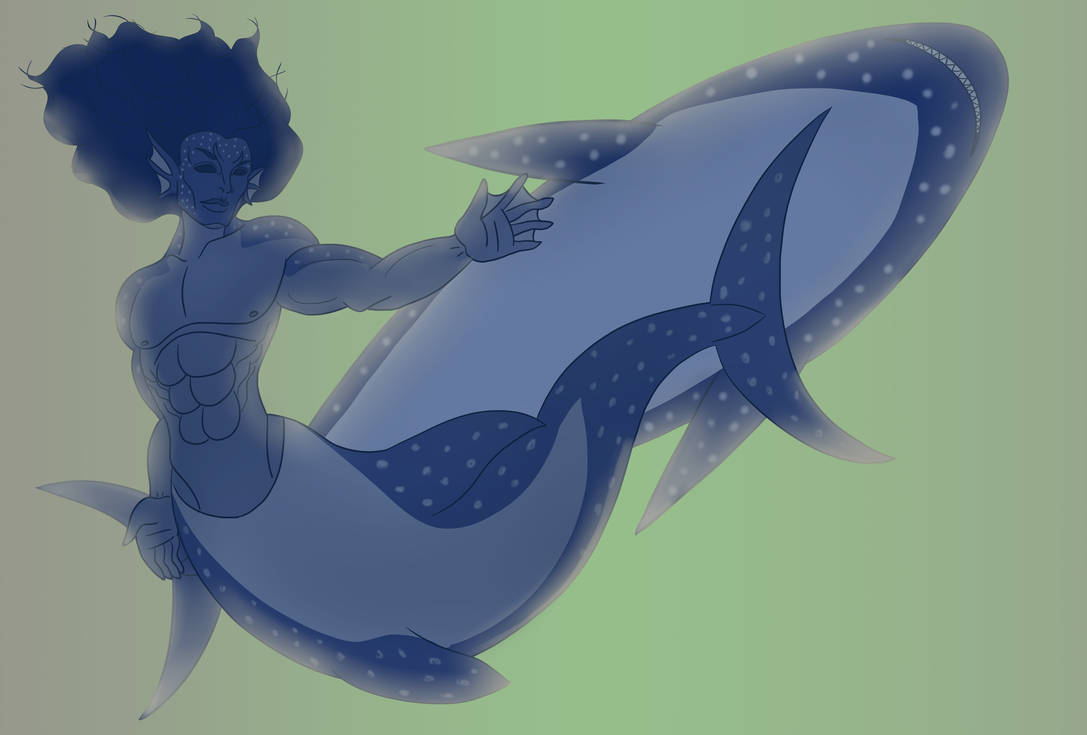 Mermay 2018 Blue Shark by Brutalwyrm