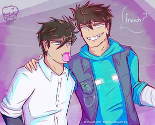Friends? by Vruzzt