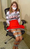 Cheerleader Chair Tied by Javinat0r