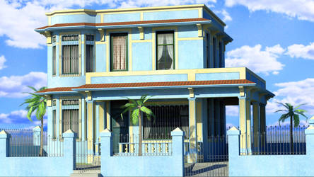 Cuban House - Lowpoly by vankata