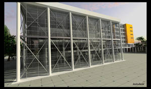 Revit Building - detail by vankata