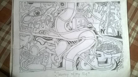 Journey Of my art! by VivekJagtap