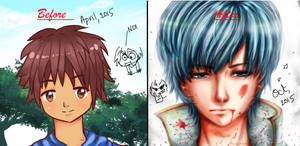Before N After Meme by RyuuOvO