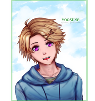Yoosung by RyuuOvO