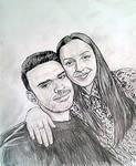 2 Portraits by artsoni