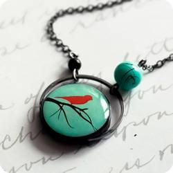 tree crown necklace by BeautySpotCrafts