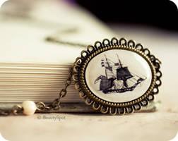 Voyage necklace by BeautySpotCrafts