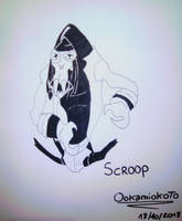 young Scroop by Ookamiokoto