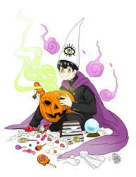 Halloween Taro by dokinana