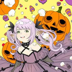 Topolina Halloween by dokinana