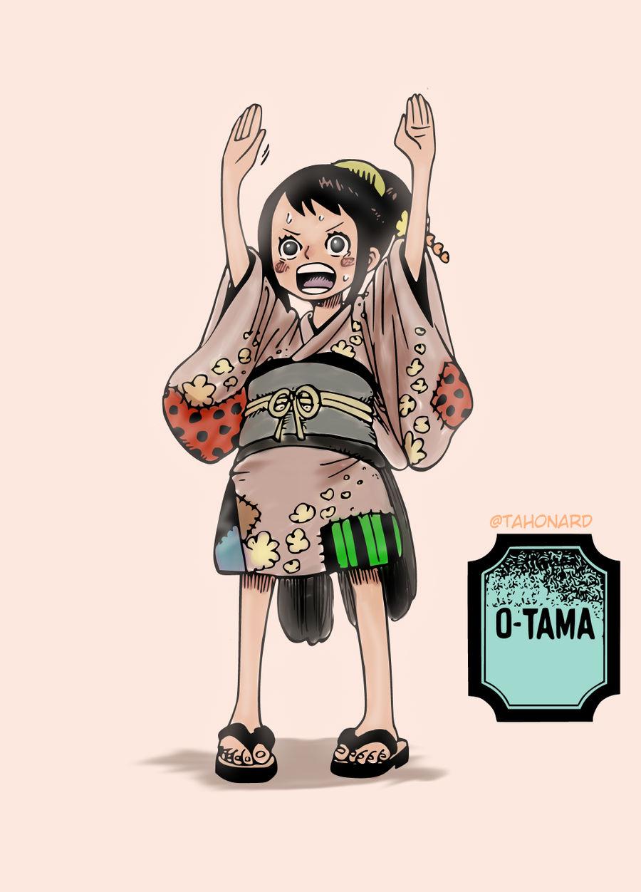 ONE PIECE 911 - O-Tama by tahonard