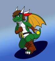 Ninja Dragon by oogaboogaz