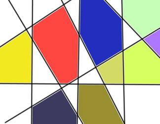 Mondrian inspiration v881 by lv888