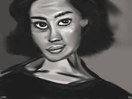 Woman Face Study n 85 by lv888