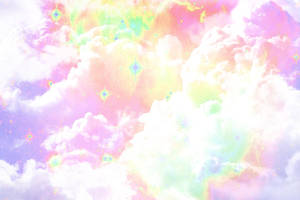 Colored Galaxy in Clouds v881 by lv888