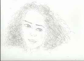 Woman Face Study N89 by lv888