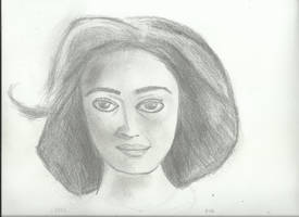 Woman face study n91 by lv888