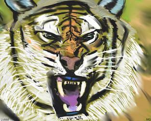 Tiger Head V883 by lv888