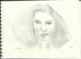 Woman Face Study n95 by lv888