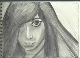 Gothic Girl Face v881 by lv888
