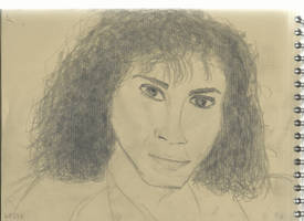 Kraft test - Woman face study n101 by lv888