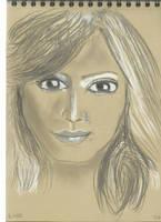 Kraft test - Woman face study n115 by lv888
