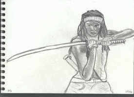 Walking dead Series - Michonne V881 by lv888