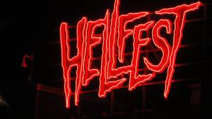 HellFest Logo by Night 2017 by lv888