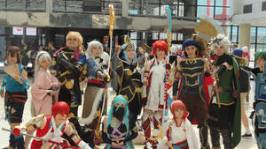 Cosplayers Pose Photo V881(Japan Expo 2017) by lv888