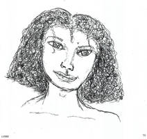 Portrait Imaginaire d une jeune fille v882 by lv888