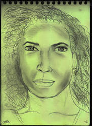 Woman Face Study N131 by lv888