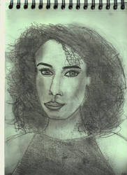 Woman Face Study N132 by lv888